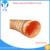 Wide application PVC meterial orange 8 inch flex duct