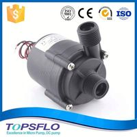 Circulation DC high pressure pump for bathroom electric water heaters