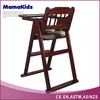 wooden baby highchair baby feeding high chair for elderly