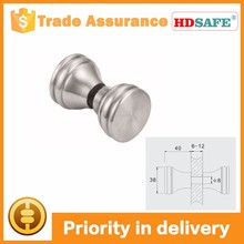 stainless steel sliding shower door clip handle, door knob for glass door