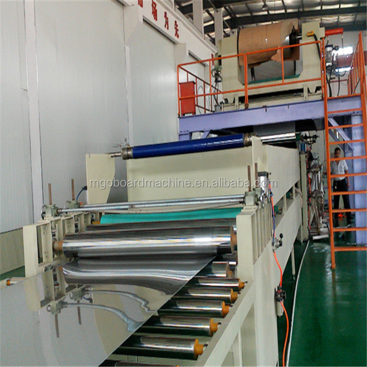 New fiber cement wall panel machine gypsum board production line
