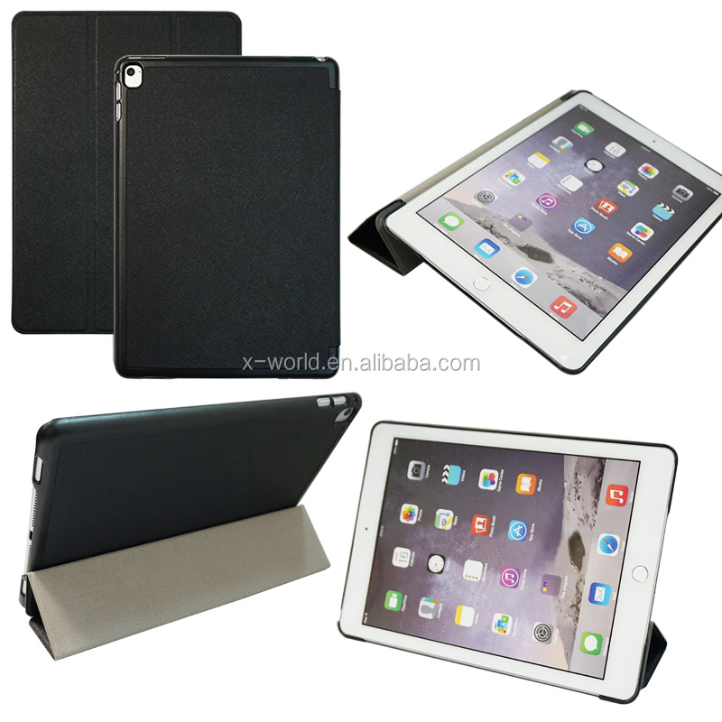 Slim Folio Stand PU Leather Case for iPad Pro 9.7,Many Colors are Available