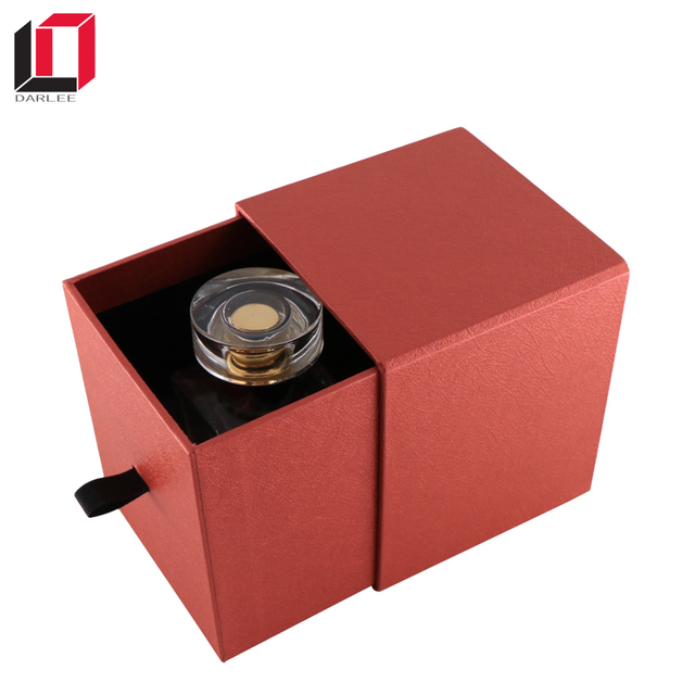 Custom slide open special paper box candle perfume fragrance packaging