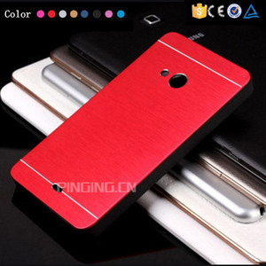 Fashion brushed metal hard pc mobile phone case cover for nokia lumia 540