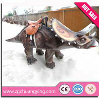 Playground Equipment electric dinosaur kiddle ride on car