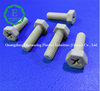 High temperature insulation injection moulding plastic peek screw