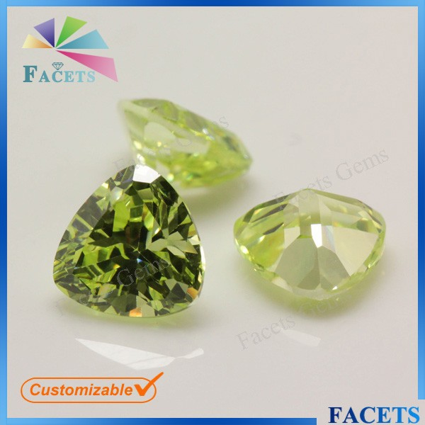 8*8 Light Olive US Gems Buyers Natural Industrial Diamond Price Buy