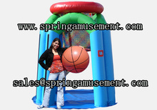 Inflatable equpment inflatable basketball hoop SP-SP084