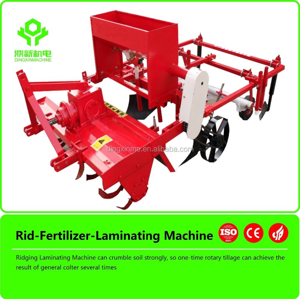 Plastic Layer agricultural machine ridging and mulching machine