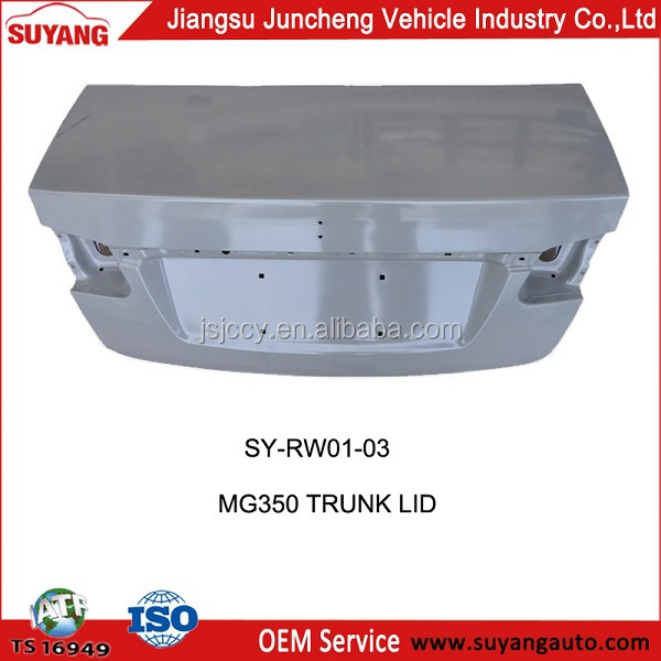Auto Spare Parts Rear Trunk Lid Supplier for MG 350
