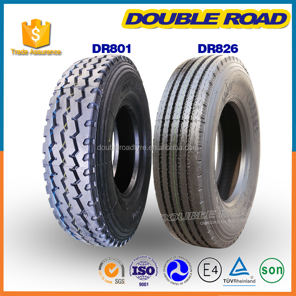 All Position Steer Wheel Radial Suitable New Tubeless Bus Tire 700R16 750R16 1200R24 Truck Tire For Driving