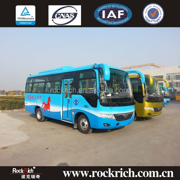China Bus Manufacturer, 25 Seater Passenger Coach Bus For Sale Malaysia