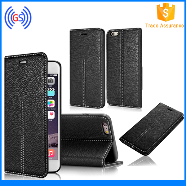 Universal Smart Phone Flip Style Leather Case With Card Holder,Luxury OEM Phone Case