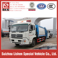 Garbage Truck For Sale Capacity of 12 cbm Hydraulic Pump Europe Standard Garbage Compressor Truck Rubbish Collection Vehicle