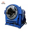 50kg Laundry Shop Washing Machine Fully automatic tilting type washer extractor