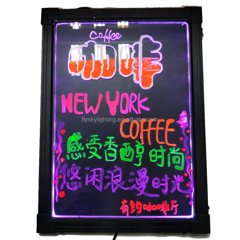 alibaba express led message board,led writing board,led display board with remote control super brightness