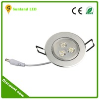 2016 alibaba express china factory led the lamp 3w 5w 7w 9w 12w 15w led downlight mini round led ceiling light 3w