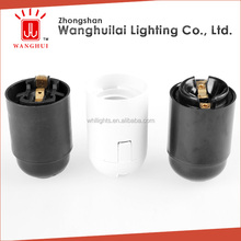 UL e26 plastic lamp socket e26 bayonet lamp holder