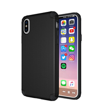 Wholesale Custom Shockproof Ultra Thin Rugged PC TPU Cell Phone Car Holder Hybrid Case Cover For iPhone X