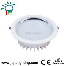 dimmable round recessed low profile led ceiling light 18w 10inch,cuttout 260mm