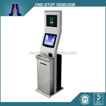 17inch self service payment kiosks/bill payment kiosks/Card Reader cash Payment kiosks