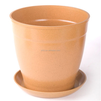 Bio friendly flower pot green eco bamboo garden pots