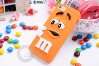 Hot sale popular design cute silicone cell phone cover for iphone 5