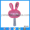 Reasonable price red inflatable rabbit head stick toy for kids