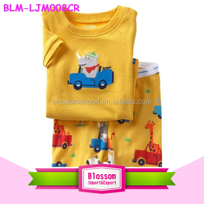 Cotton baby pajamas kids cartoon clothes baby outfit