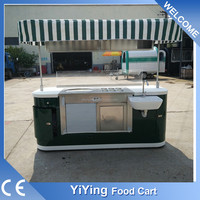 New custom YiYing YY- IC200 mobile street vending carts for sale