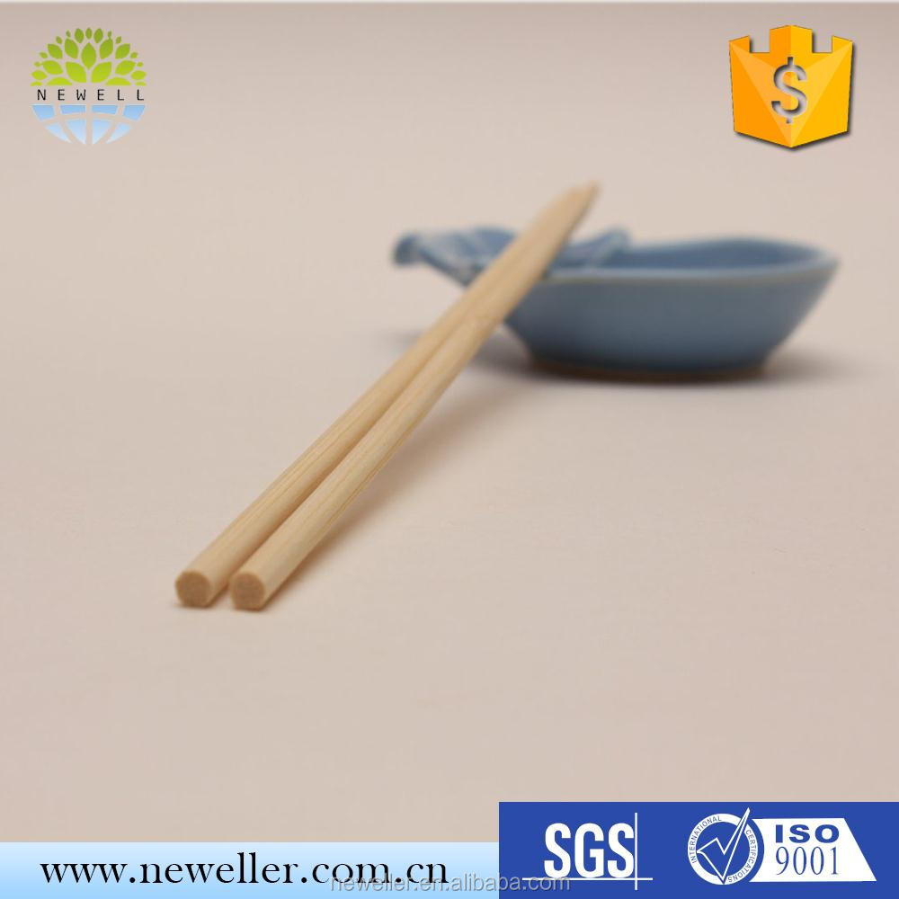 Hot selling cheap small round chopstick with low price