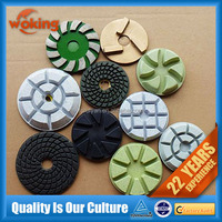 3-step Wet Polishing Pad For Marble And Granite