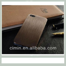 Fashionable Hard Metal Case for iPhone 5,For ultra thin iphone 5 titanium case, For iphone 5 metal case