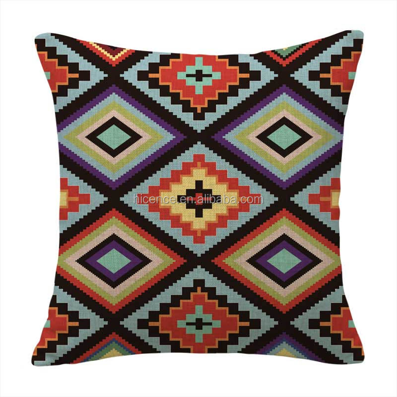 Popular Kilims Style Cushion Cover Replacement For Sofa