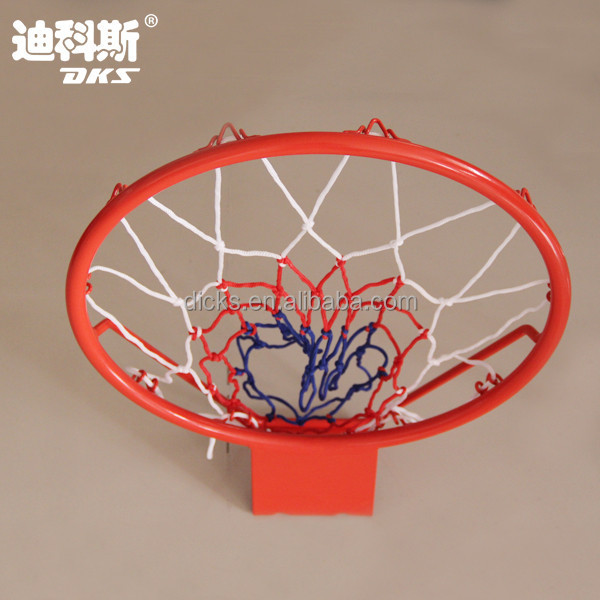 Mini Steel Tube Metal Basketball Ring With 3 C Net
