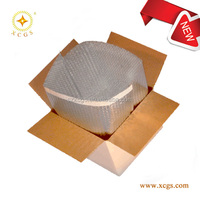 Aluminized Foi Bubble Super Shield Thermal Insulation 3D Box Liner