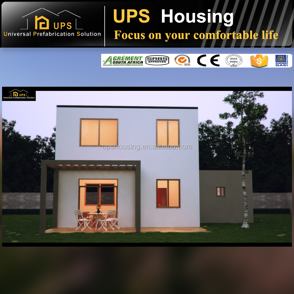 CE certificated Environmental friendly 90% Cost saving prefab eco house