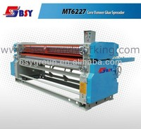 MT6227 Double side spreading machine/glue spreader/glue spreading machine for plywood prodction line Four roller Double side