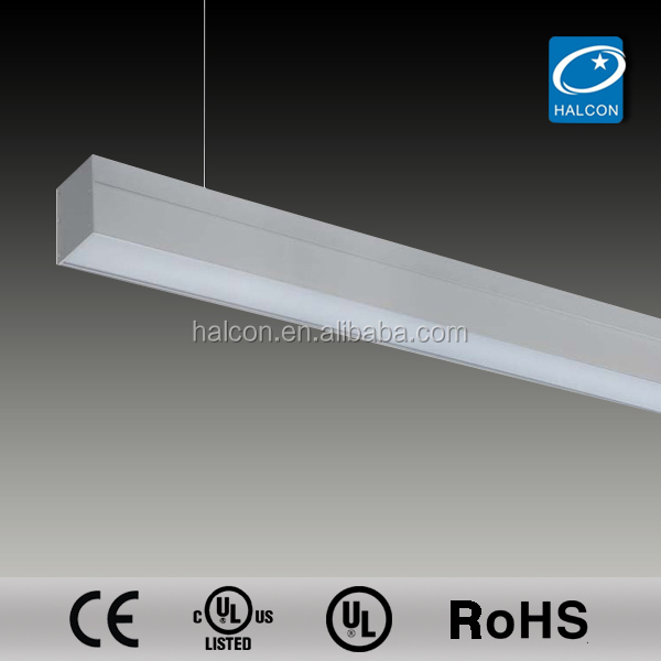 2014 UL CUL suspended office lighting fixture drop ceiling light fixture lamp fixture t5 fluorescent light cover