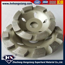 Diamond grinding wheel for hard stone like marble,granite with cup style