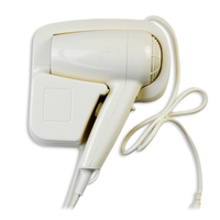 220V new style top quality plastic professional over-heating hotel 1200w low noise hair dryer
