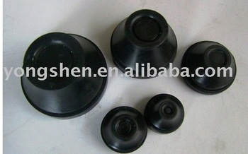 Different sizes Molded rubber buffer