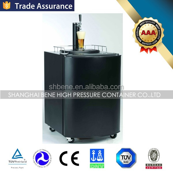 Wholesale co2 pressure beer dispenser draft beer tower dispenser for bar