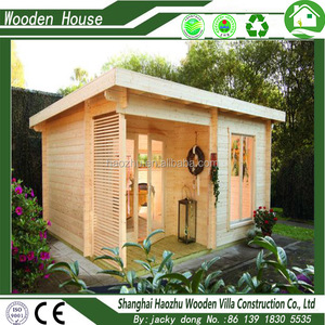 Luxury prefabricated garden bali wooden houses