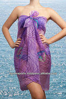 Beautiful young ladies pareos and sarongs cheap wholesale indian made PAREOS POLYESTER BEACHWEAR SWIMWEAR, SPORTSWEAR WRAPS