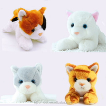 20cm Small Kawaii Kitten Cat Plush Toy Stuffed Simulational Cats Soft Kids Toys for Children Gifts Decor Collection