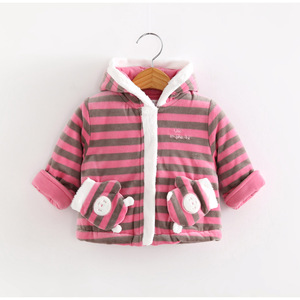 2016 Children Baby winter cotton warm coat children clothes set
