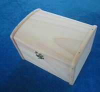 Custom wholesale small wood boxes lock
