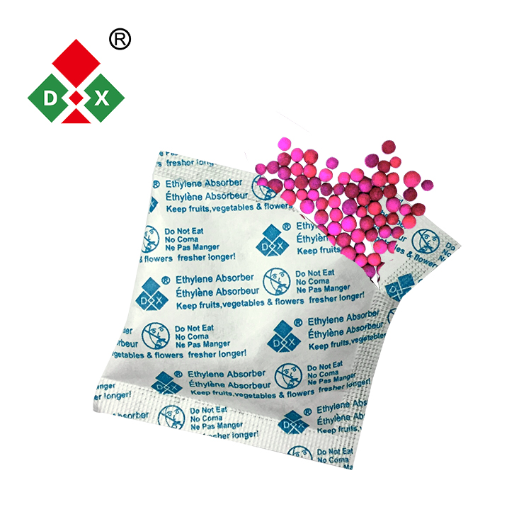 With MSDS 5-100G Fruit Ethylene absorber bag made in China