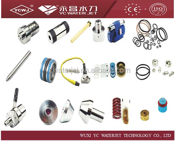 waterjet cutting machine parts